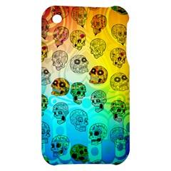 Sugary Skulls Apple iPhone 3G/3GS Hardshell Case by TheTalkingDead
