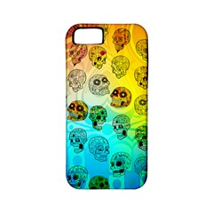Sugary Skulls Apple Iphone 5 Classic Hardshell Case (pc+silicone) by TheTalkingDead