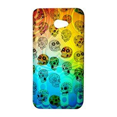 Sugary Skulls HTC Butterfly S/HTC 9060 Hardshell Case by TheTalkingDead