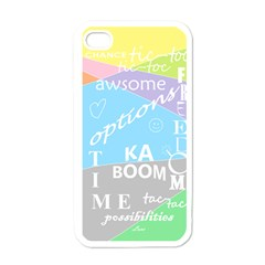 Oh Write Apple Iphone 4 Case (white) by Contest1719785