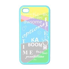 Oh Write Apple Iphone 4 Case (color) by Contest1719785
