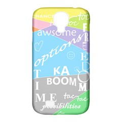 Oh Write Samsung Galaxy S4 Classic Hardshell Case (pc+silicone) by Contest1719785