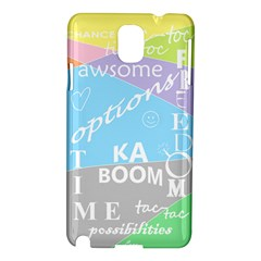 oh write Samsung Galaxy Note 3 N9005 Hardshell Case by Contest1719785