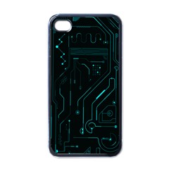 Circuit Board Apple Iphone 4 Case (black) by TheTalkingDead