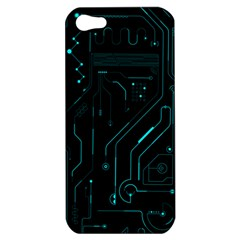Circuit Board Apple Iphone 5 Hardshell Case by TheTalkingDead