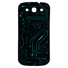 Circuit Board Samsung Galaxy S3 S Iii Classic Hardshell Back Case by TheTalkingDead