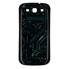 Circuit Board Samsung Galaxy S3 Back Case (black) by TheTalkingDead