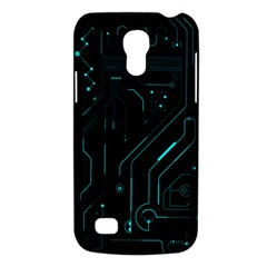 Circuit Board Samsung Galaxy S4 Mini Hardshell Case  by TheTalkingDead