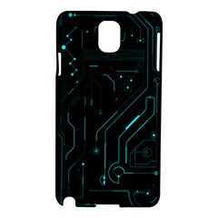 Circuit Board Samsung Galaxy Note 3 N9005 Hardshell Case by TheTalkingDead