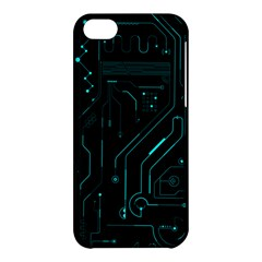 Circuit Board Apple iPhone 5C Hardshell Case by TheTalkingDead