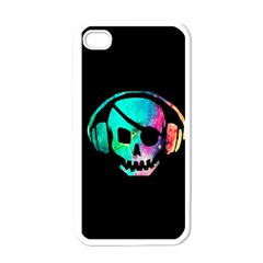 Pirate Music Apple Iphone 4 Case (white) by TheTalkingDead