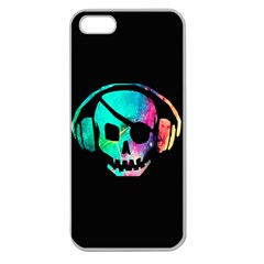 Pirate Music Apple Seamless Iphone 5 Case (clear) by TheTalkingDead