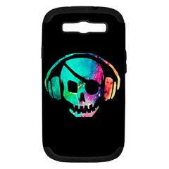 Pirate Music Samsung Galaxy S Iii Hardshell Case (pc+silicone)