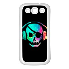 Pirate Music Samsung Galaxy S3 Back Case (white) by TheTalkingDead