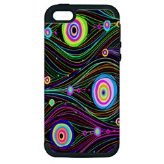Peacock Apple iPhone 5 Hardshell Case (PC+Silicone)