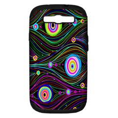 Peacock Samsung Galaxy S Iii Hardshell Case (pc+silicone) by TheTalkingDead