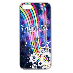 Dream In Colors Apple Seamless Iphone 5 Case (clear)