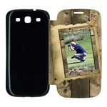 Timber Samsung Galaxy S3 Flip Cover Case