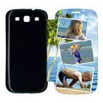 Travel Samsung Galaxy S3 Flip Cover Case