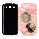 Girl Samsung Galaxy S3 Flip Cover Case
