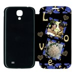 Love Samsung Galaxy S4 Flip Cover Case