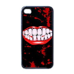 The Phone With Bite Apple Iphone 4 Case (black)