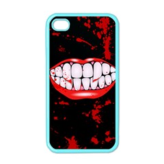 The Phone With Bite Apple Iphone 4 Case (color)