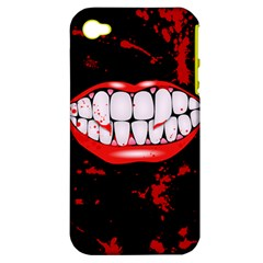 The Phone With Bite Apple iPhone 4/4S Hardshell Case (PC+Silicone) by TheTalkingDead