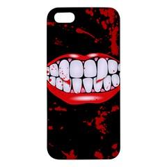 The Phone With Bite Iphone 5s Premium Hardshell Case