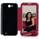 Love Samsung Galaxy Note 2 Flip cover Case