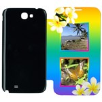 Tropical Samsung Galaxy Note 2 Flip cover Case
