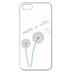 Make A Wish Apple Seamless Iphone 5 Case (clear)