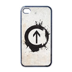 Above the Influence Apple iPhone 4 Case (Black) by Contest1775858