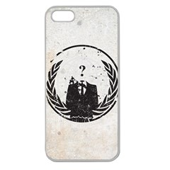Anon Apple Seamless Iphone 5 Case (clear)