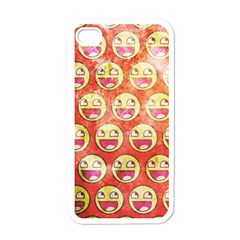 Epic Face Apple Iphone 4 Case (white) by Contest1775858