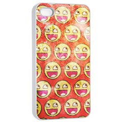 Epic Face Apple Iphone 4/4s Seamless Case (white) by Contest1775858