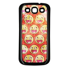 Epic Face Samsung Galaxy S3 Back Case (black) by Contest1775858