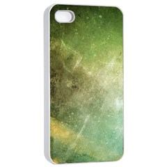 Green Grunge Apple Iphone 4/4s Seamless Case (white)