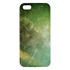Green Grunge Iphone 5s Premium Hardshell Case by Contest1775858