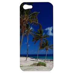 Relaxing On The Beach Apple Iphone 5 Hardshell Case