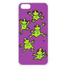 Sticky Things Apple Iphone 5 Seamless Case (white) by Contest1760572