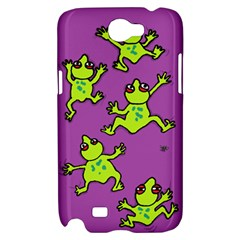 sticky things Samsung Galaxy Note 2 Hardshell Case by Contest1760572