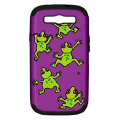 Sticky Things Samsung Galaxy S Iii Hardshell Case (pc+silicone) by Contest1760572