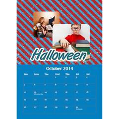 Calendar By C1   Desktop Calendar 6  X 8 5    Oa25tgz9e5ik   Www Artscow Com Oct 2014