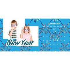Calendar By C1   Desktop Calendar 11  X 5    4o16cdl2kxgm   Www Artscow Com Jan 2014