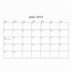 Calendar By C1   Wall Calendar 8 5  X 6    Qcvkz5g70y4g   Www Artscow Com Jun 2014