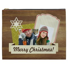 Merry Christmas By Merry Christmas   Cosmetic Bag (xxxl)   0y8yezhswwax   Www Artscow Com Front