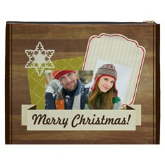 Merry Christmas By Merry Christmas   Cosmetic Bag (xxxl)   0y8yezhswwax   Www Artscow Com Back