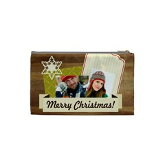 Merry Christmas By Merry Christmas   Cosmetic Bag (small)   Qdt2cgfnw00u   Www Artscow Com Back