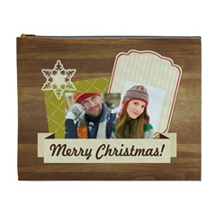 Merry Christmas By Merry Christmas   Cosmetic Bag (xl)   9g2bp0t2su36   Www Artscow Com Front